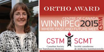 Dr. Dana Devine wins the CSTM ORTHO award