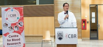 UBC's new president makes Centre for Blood Research one of his first stops