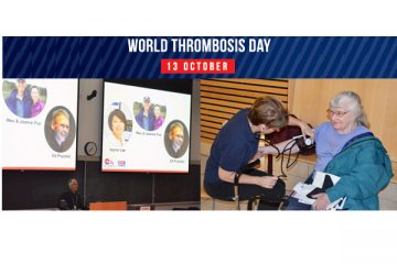 CBR Hosts: The First World Thrombosis Day in Vancouver