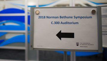 2018 Norman Bethune Symposium