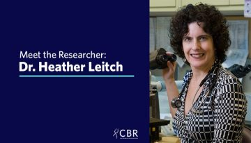 Meet the Researcher: Dr. Heather Leitch