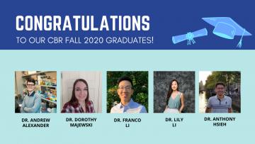 Congratulations to our CBR Fall 2020 Graduates!