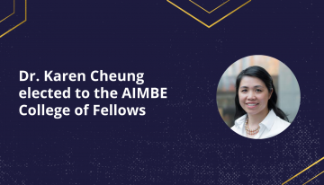 Dr. Karen Cheung Elected to the AIMBE College of Fellows