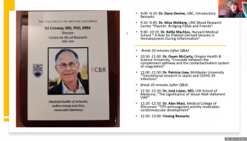 CBR Symposium in Honour of Dr. Ed Conway – Apr 15, 2021