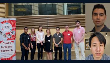 Group photo of the 2019-2020 CBR Graduate Award Program (GAP) cohort