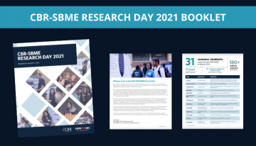 CBR-SBME Research Day 2021 Booklet