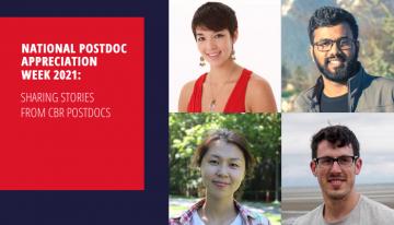 National Postdoc Appreciation Week 2021: Sharing Stories from CBR Postdocs