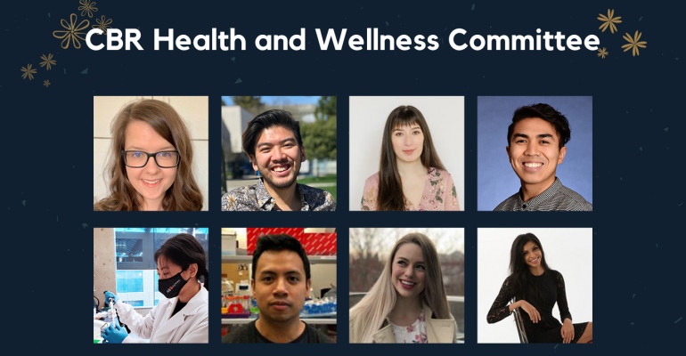 Collage of CBR Health and Wellness Committee members